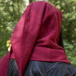 Kaptur Assassins Creed, czerwony