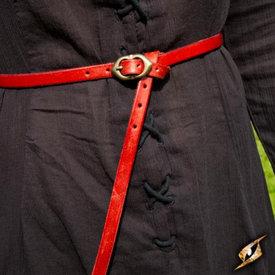 Epic Armoury Cinturón renacentista de Ambrosio, rojo.