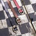 Epic Armoury Cinturón renacentista de Ambrose, negro.