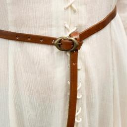 Pas renesansowy Ambroży, brązowy