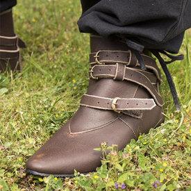 Epic Armoury Middelalderlige ankelstøvler Godfrey, brun