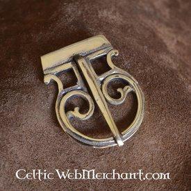Roman belt buckle brass