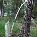 """Strzelec ręcznie łuk, 58"""" (147 cm), jasnobrązowy 40 funtów"""