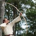 """Recreación del arco de Marksman / LARP, 70 """"(178 cm) de color marrón claro, 25 lbs"""