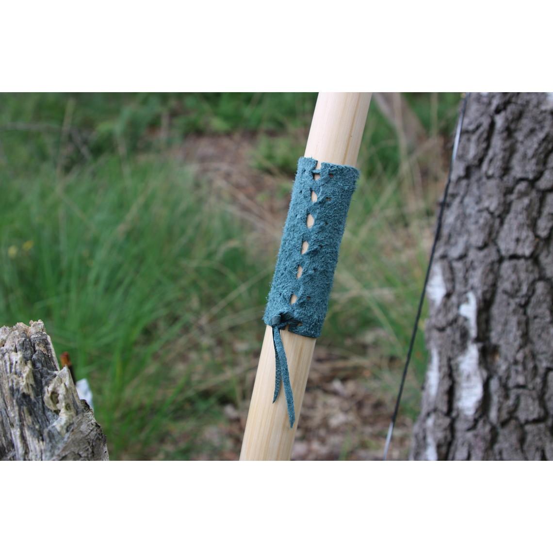"""Strzelec łuk rekonstrukcja / larp 70"""" (178 cm), jasnobrązowy, 25 funtów"""