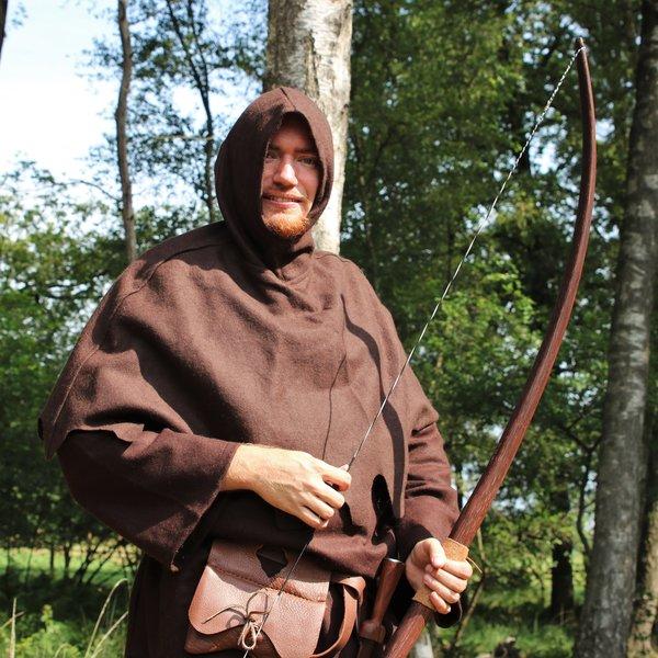 Chaperon de laine, marron