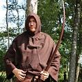 Leonardo Carbone Capucha de lana, marrón