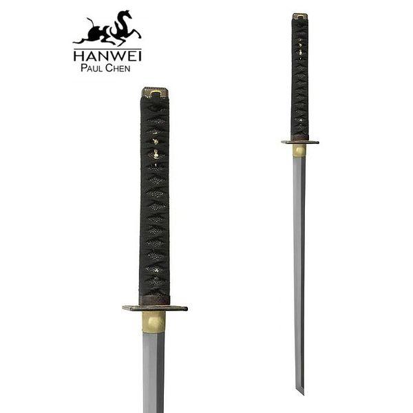CAS Hanwei Bitwa gotowe katana Ninja białą SAME