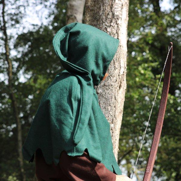 Chaperon de laine, vert