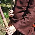 Leonardo Carbone Tunica de lana Folcart, marrone