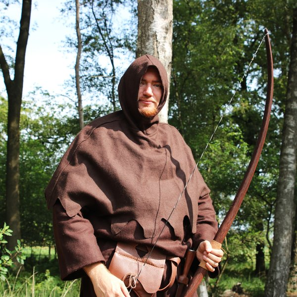 "Marksman hand-bow, 58 ""(147 cm) brun foncé 40 lbs"