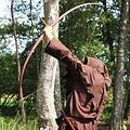 "Marksman handboog, 58"" (147 cm) donkerbruin 40 lbs"