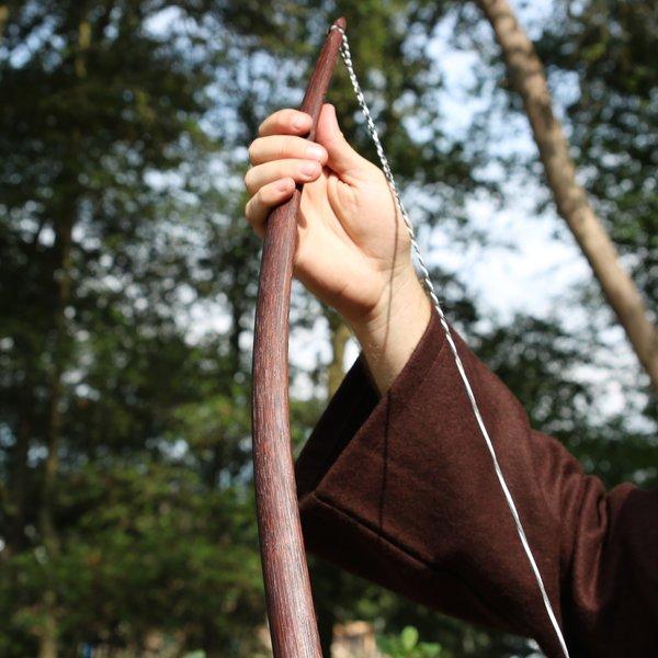 """Arc Marksman pour re-enactment / GN, 50"""" (127 cm) brun foncé, 25 lbs"""