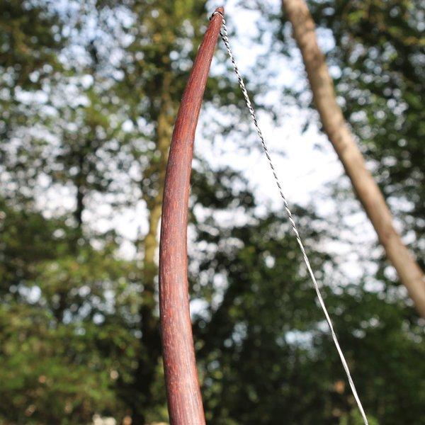 """Skytte bue nyopførelse / larp, 70"""" (178 cm) mørkebrun, 25 lbs"""
