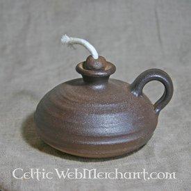 Średniowieczny olej lampy