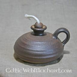 Mittelalterliche Öllampe