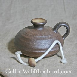 Lampe à huile médiévale