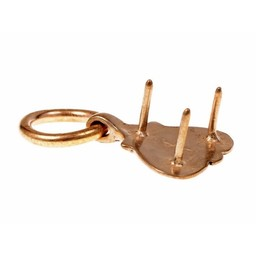 ajuste con el anillo de la correa de Viking en forma de corazón