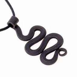 Żelazo wąż wisiorek Birka