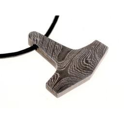 Thor's hamer Damascus steel