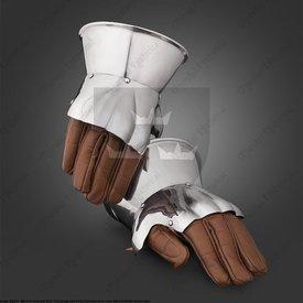 Marshal Historical 14-ta-15 wieku pół rękawice