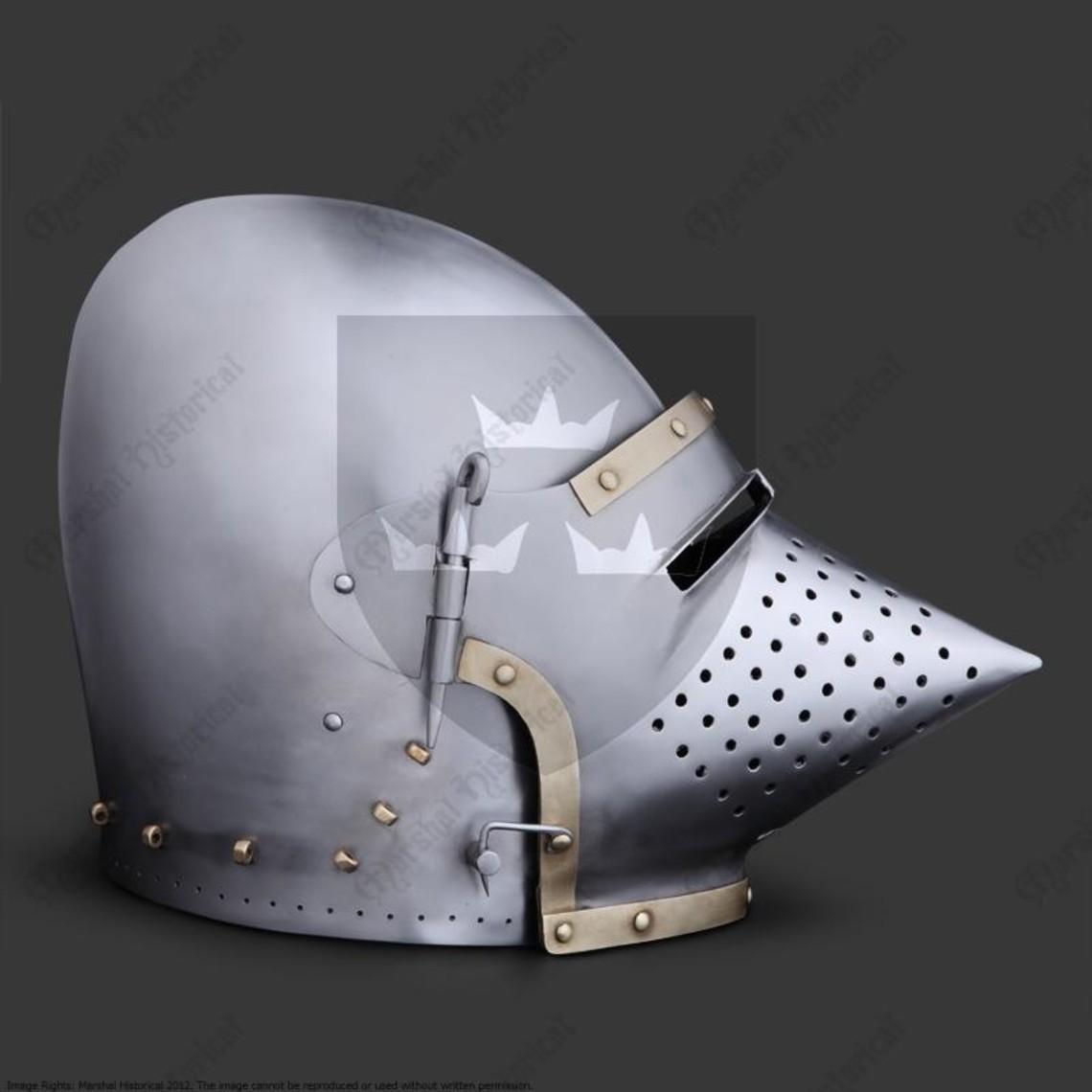 Marshal Historical Churburg przyłbica, 2 mm Bitwa gotowe