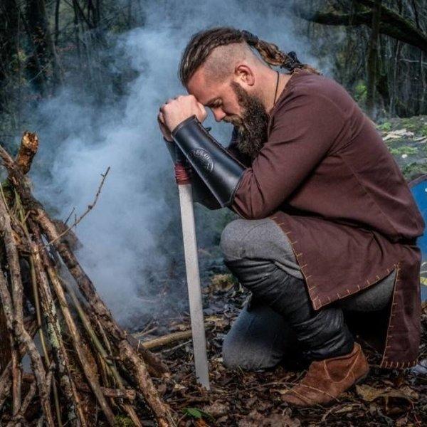Leonardo Carbone Viking bukser Jorvik, brun
