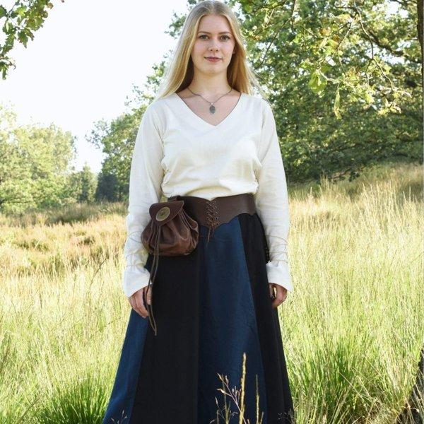 Blouse médiévale Aubrey, naturelle