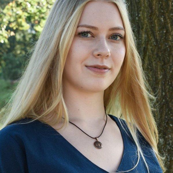 Medieval bluzka Aubrey, niebieski