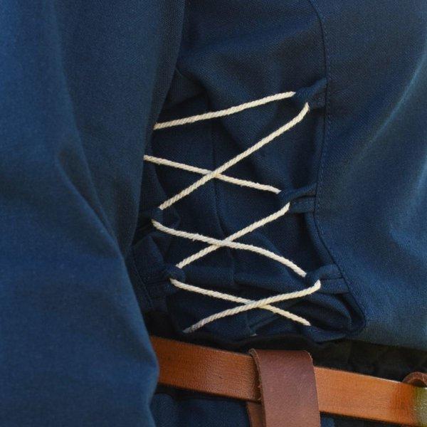 Camicetta medievale Aubrey, blu