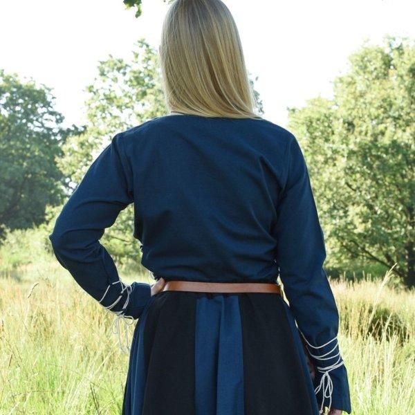 Medeltida blus Aubrey, blå