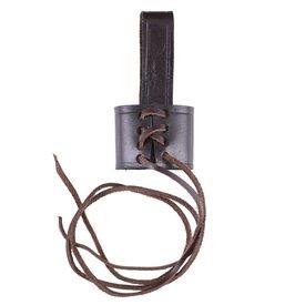 Deepeeka Porte-ceinture pour poignard, brun