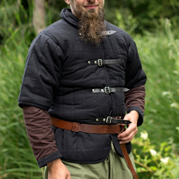 Epic Armoury RFB Short sleeved belt gambeson, black