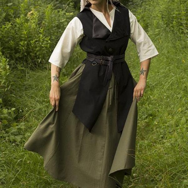 Epic Armoury Victorian vest Dorian, black