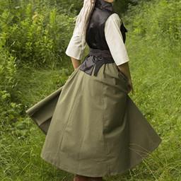 Wiktoriańska kamizelka Dorian, czarna