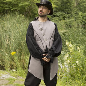 Epic Armoury Viktoriansk väst Dorian, grå
