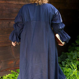 Renesansowa sukienka Lucretia, niebieska