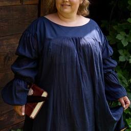 Vestido renacentista Lucrecia, azul