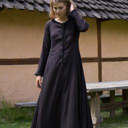 Cotehardie Isobel, czarna