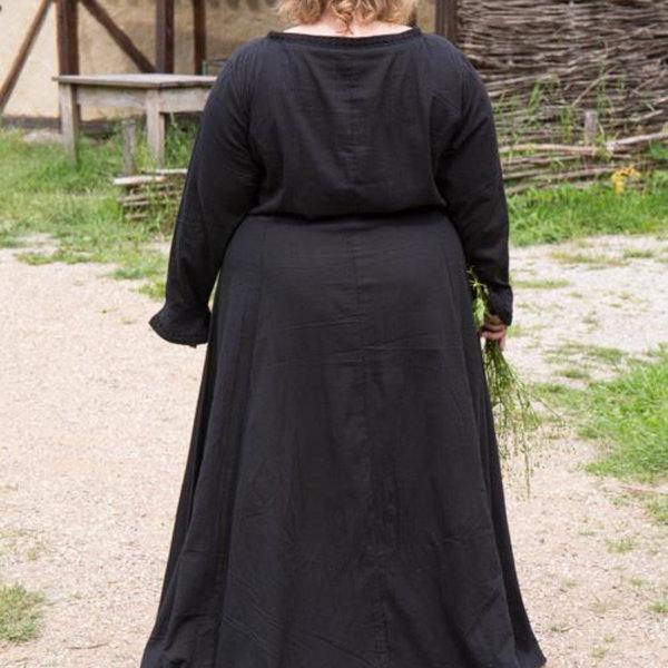 Epic Armoury Cotehardie Isobel, zwart