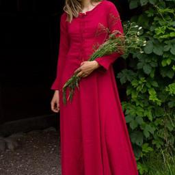 Cotehardie Isobel, rojo