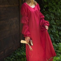 Epic Armoury Renaissance dress Lucretia, red