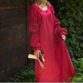 Epic Armoury Robe Renaissance Lucretia, rouge