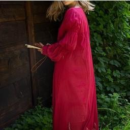 Renaissance klänning Lucretia, röd