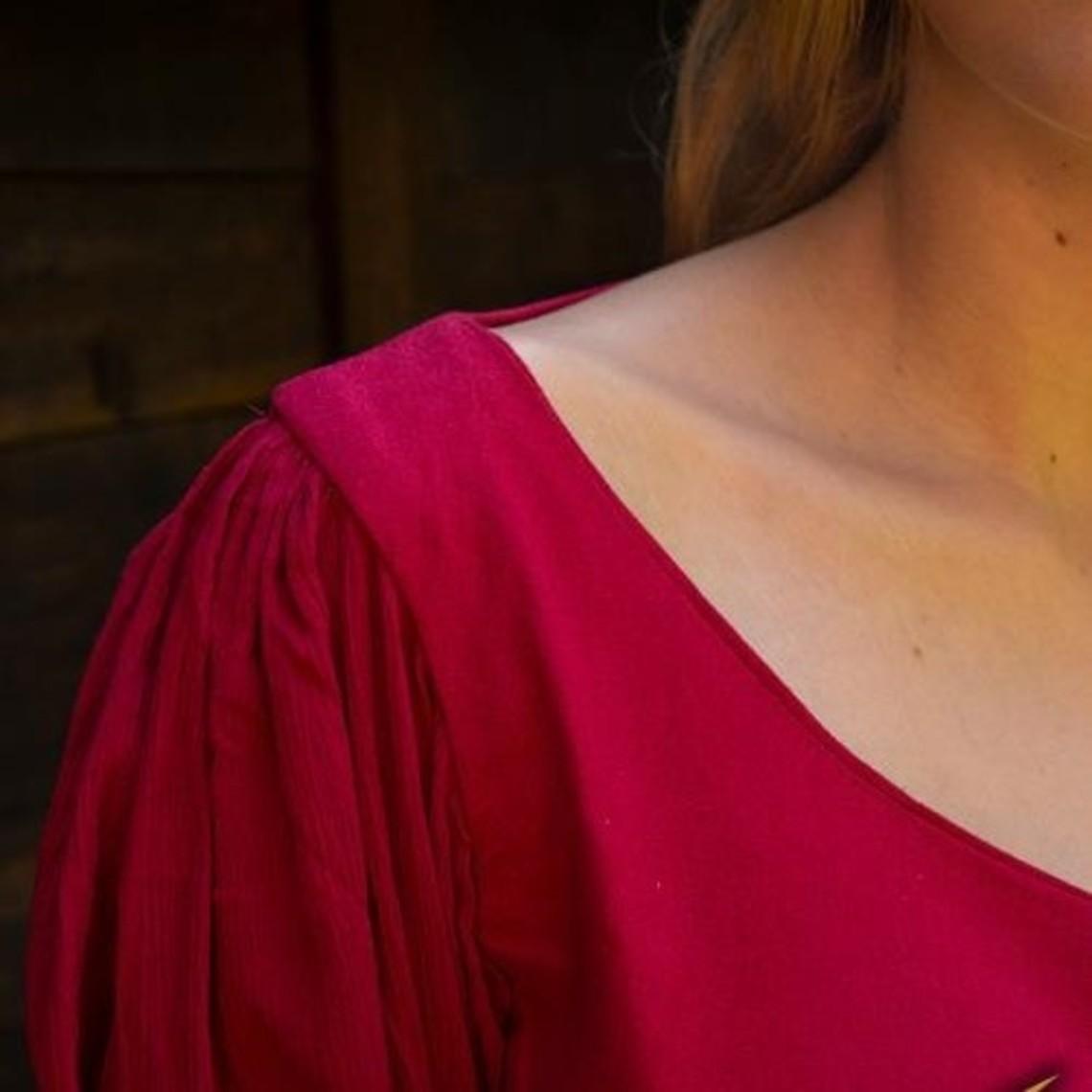 Epic Armoury Abito rinascimentale Lucretia, rosso
