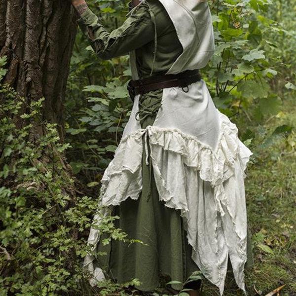 Epic Armoury Abito Raven, bianco