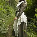 Epic Armoury Vestido Raven, blanco