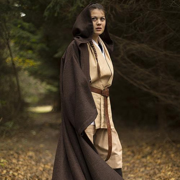 Epic Armoury Middeleeuws gewaad Osgar, bruin