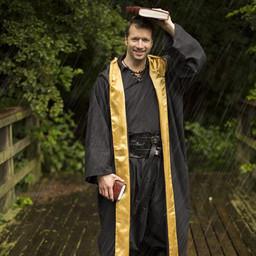 Wizard robe, black-yellow