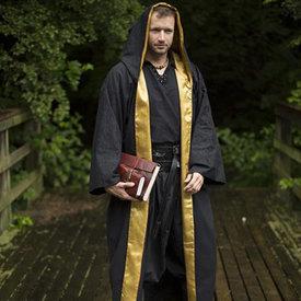 Epic Armoury Wizard robe, black-yellow